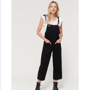 NWT BDG Tie Shoulder Corduroy Overall